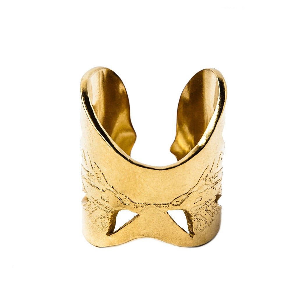 Gold Angel Wings Ring - Similar to Cartier - Maison du Roi - 2