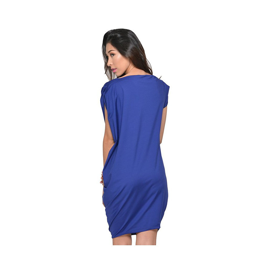 Georgina Dress- Blue Violet - Maison du Roi - 3