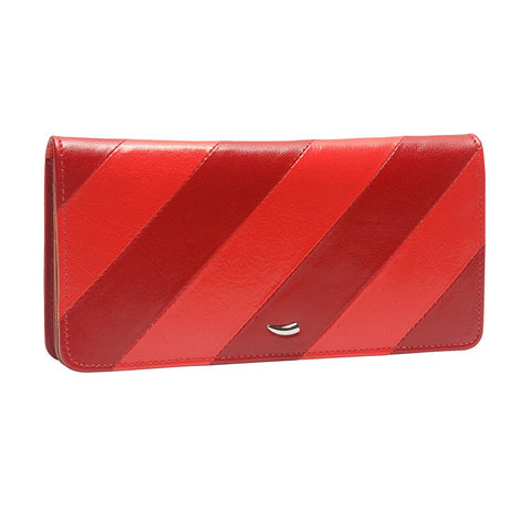 Barcelona Gusseted Clutch Wallet - Similar to Chanel