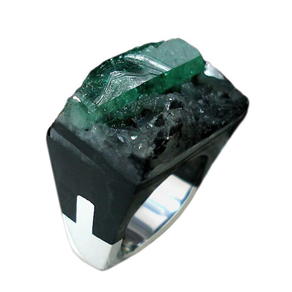 Emerald Ring - Similar to Cartier - Maison du Roi - 3