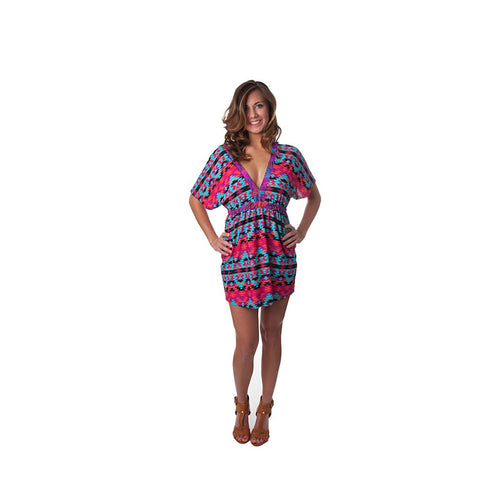 Kaleidoscope Kaylee Signature Tunic Dress - Maison du Roi - 1