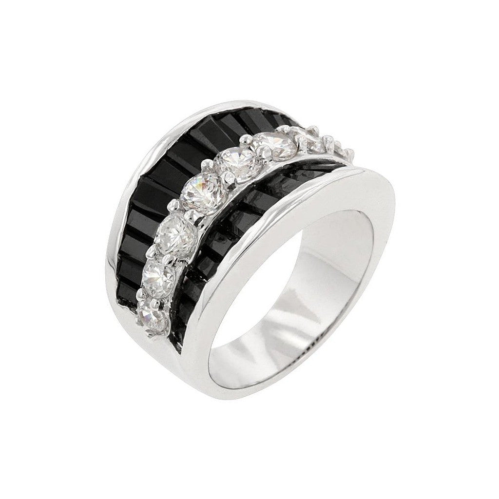 CZ Groove Ring - Similar to Cartier - Maison du Roi - 1