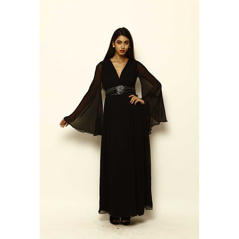 Lanah Maxi Dress - Maison du Roi - 1
