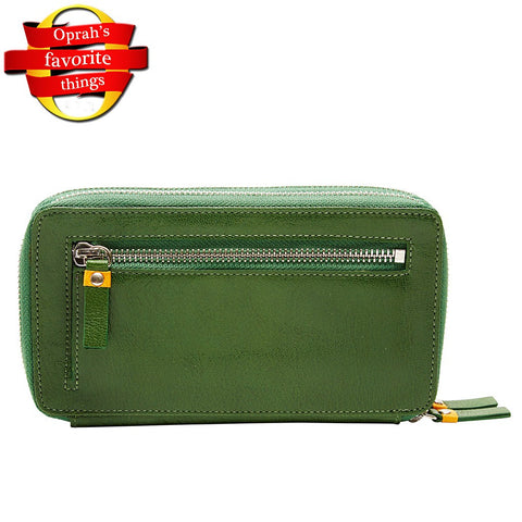 Capri Double Zip Wallets