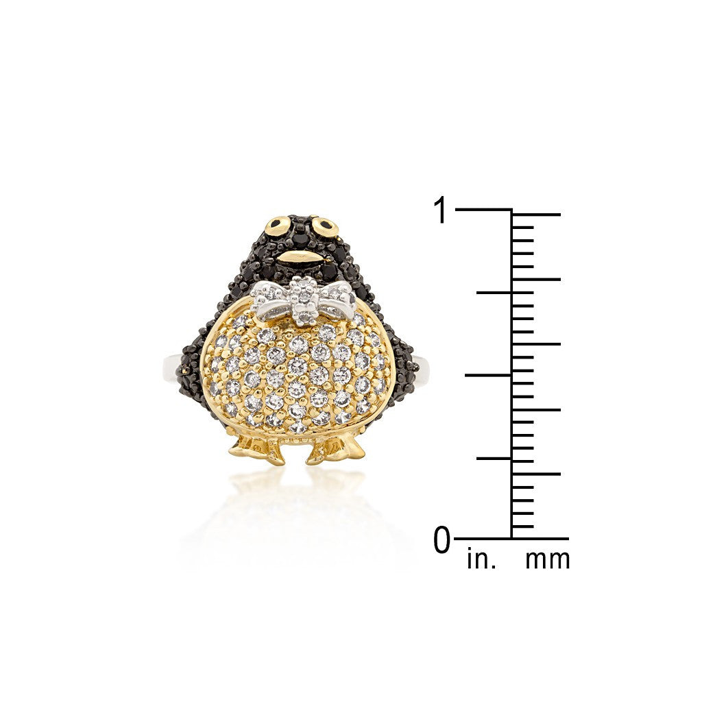 Golden Penguin Ring - Similar to Cartier - Maison du Roi - 3