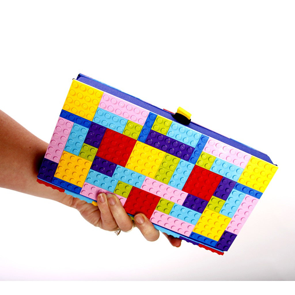 LEGO Clutch- Colorful - Similar to Prada - Maison du Roi - 1