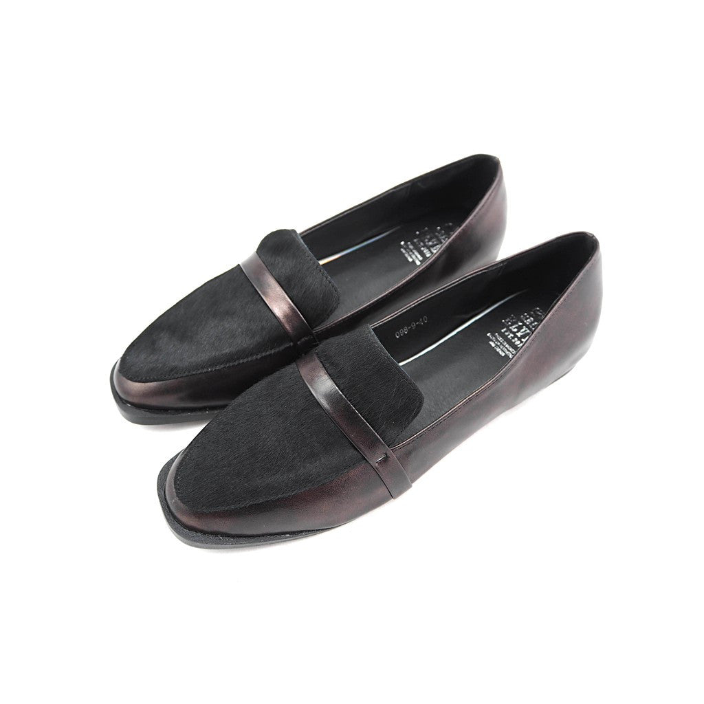 Dave genuine pony leather loafers - Maison du Roi - 3