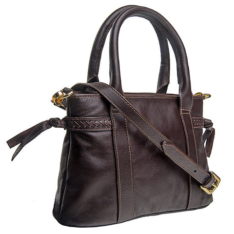 Hidesign Mina Leather Small Satchel - Maison du Roi - 1