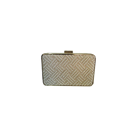 Old Hollywood pearl clutch - Maison du Roi - 1
