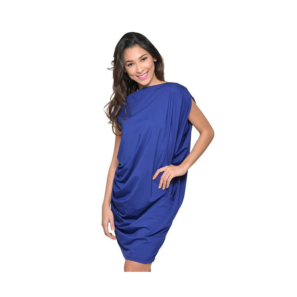 Georgina Dress- Blue Violet - Maison du Roi - 1