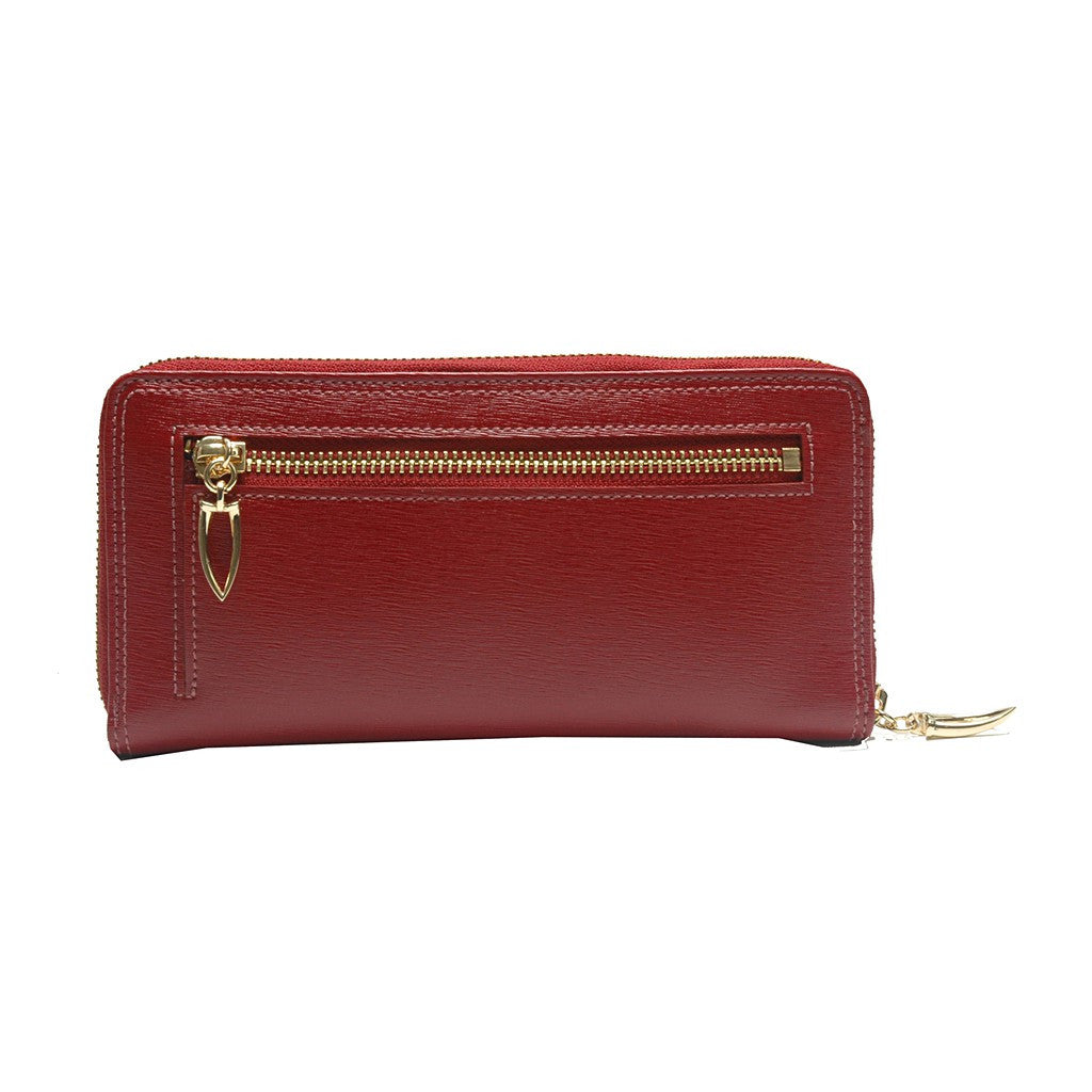 Madison Single Gusseted Clutch Wallet - Similar to Chanel - Maison du Roi - 2