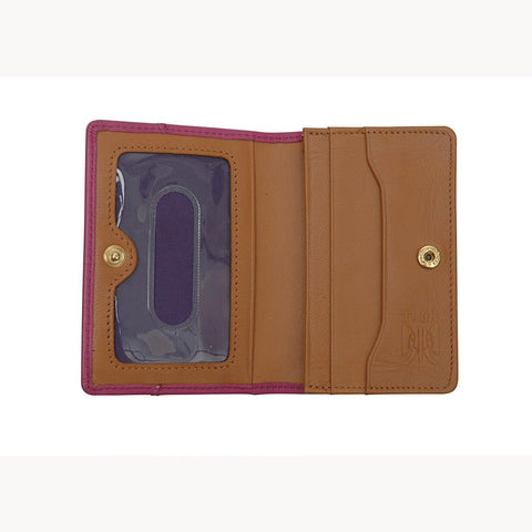 Donington Napa Gusseted Business Card Case