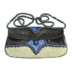 Dolphin Sequined Clutch - Maison du Roi