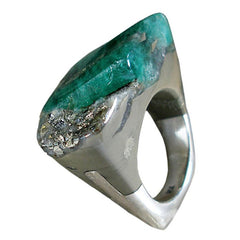 Emerald Ring - Similar to Cartier - Maison du Roi - 6
