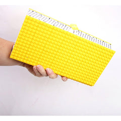LEGO Clutch- Yellow - Similar to Prada - Maison du Roi - 1