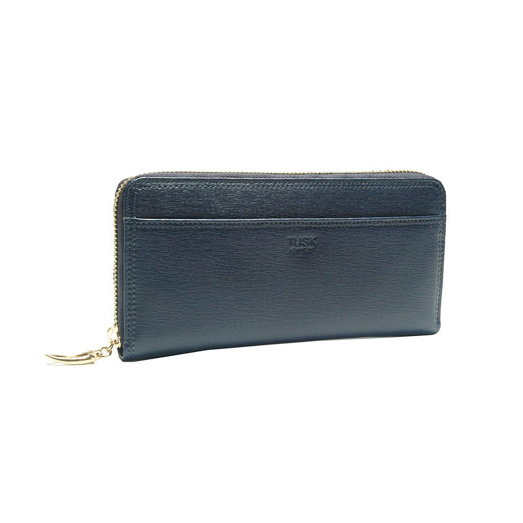 Madison Single Gusseted Clutch Wallet - Similar to Chanel - Maison du Roi - 5