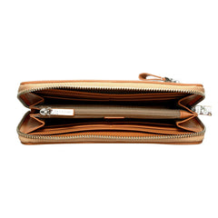 SINGLE ZIP CLUTCH WITH WRITSLET - Similar to Fendi - Maison du Roi - 3