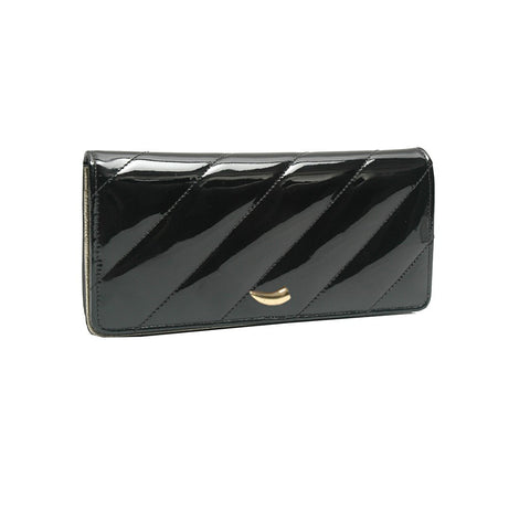 Kiyomi Gusseted Clutch Wallet - Similar to Chanel - Maison du Roi - 1