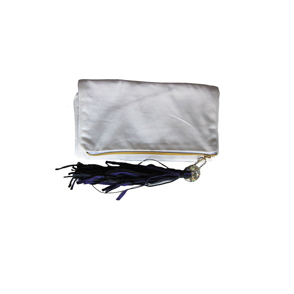 The Metropolitan Clutch - White  - Similar to Chanel - Maison du Roi - 1