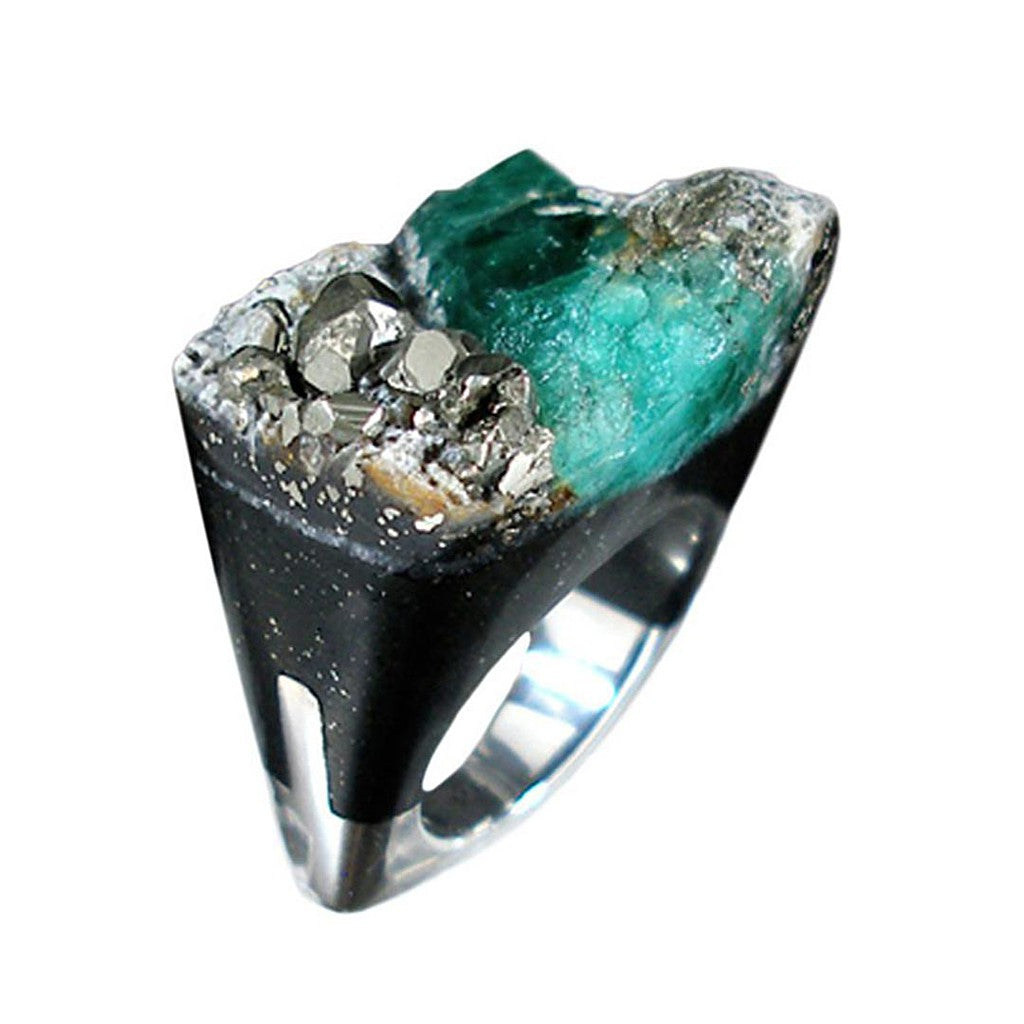 Emerald Ring - Similar to Cartier - Maison du Roi - 1