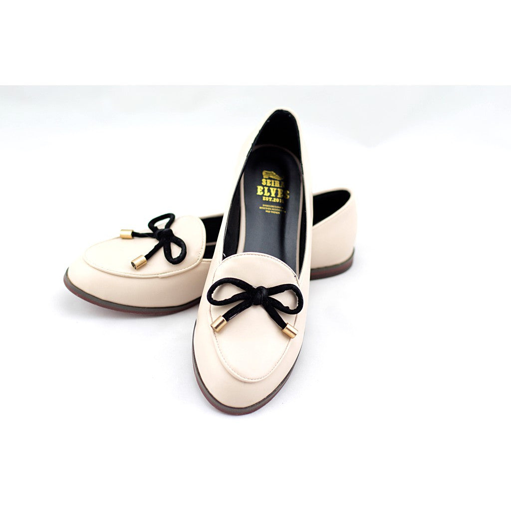 Oscar pink with a feminine bow loafers - Maison du Roi - 2