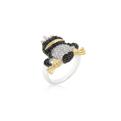 Crowned Frog Ring - Similar to Cartier - Maison du Roi - 1