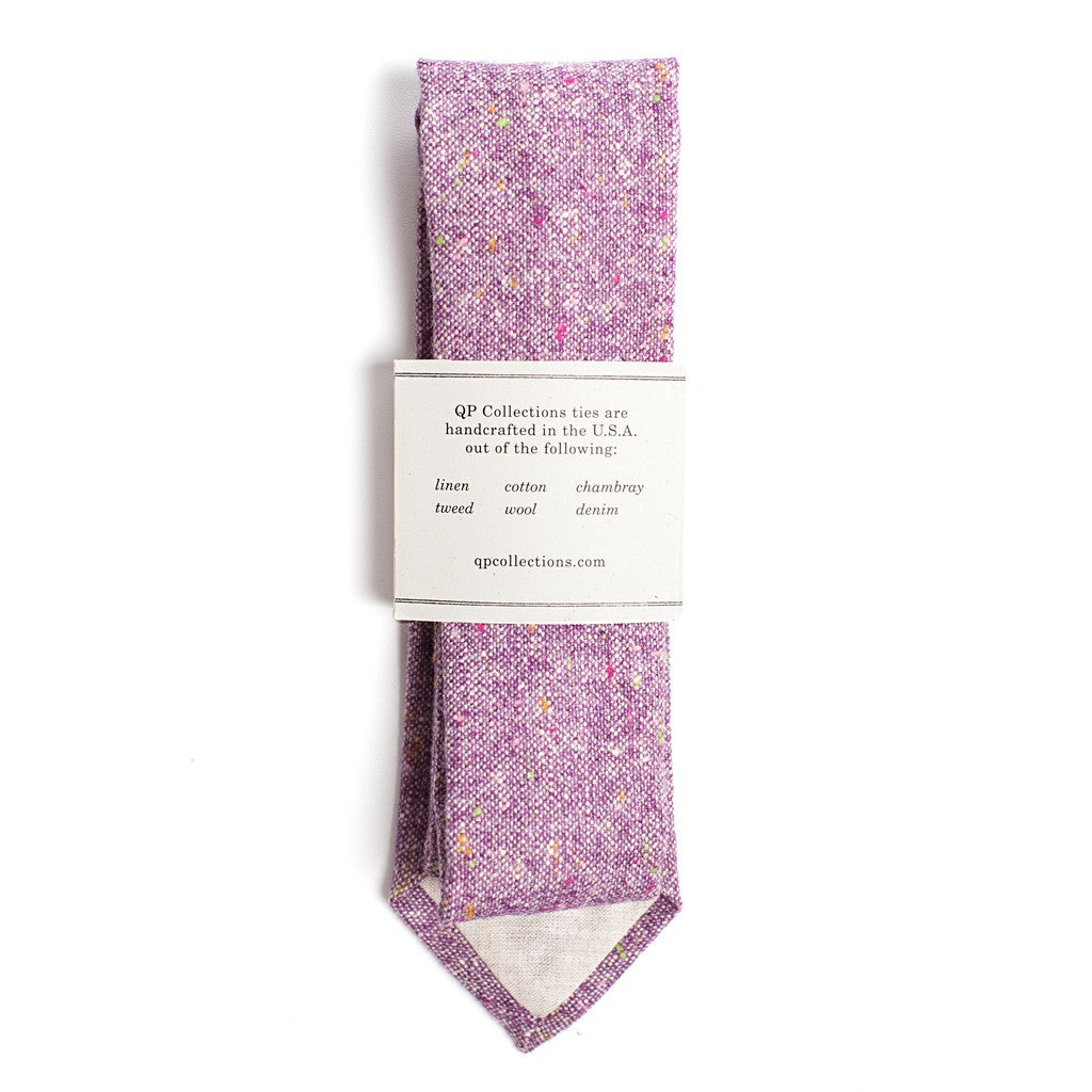 Wool Tweed - Purple - Maison du Roi - 2