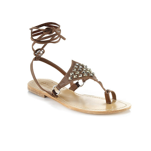 Amazon Brown Sandal - Maison du Roi - 1