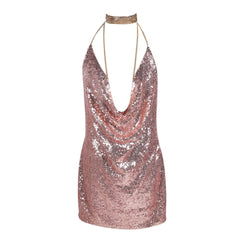 Sexy Sequined Party Dress
