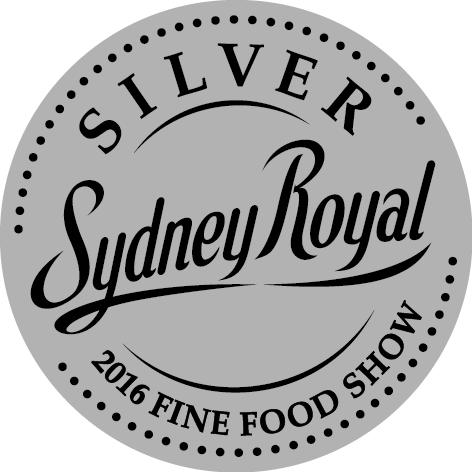 2016 Sydney Royal Fine Food Show Medal Winner