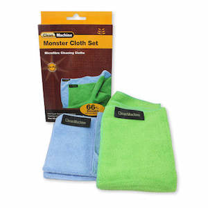 Clean Machine Monster Cloth - Set of 2