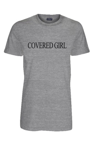 Covered Girl Logo - Grey