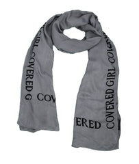 Covered Girl Logo Wrap  - Charcoal Grey