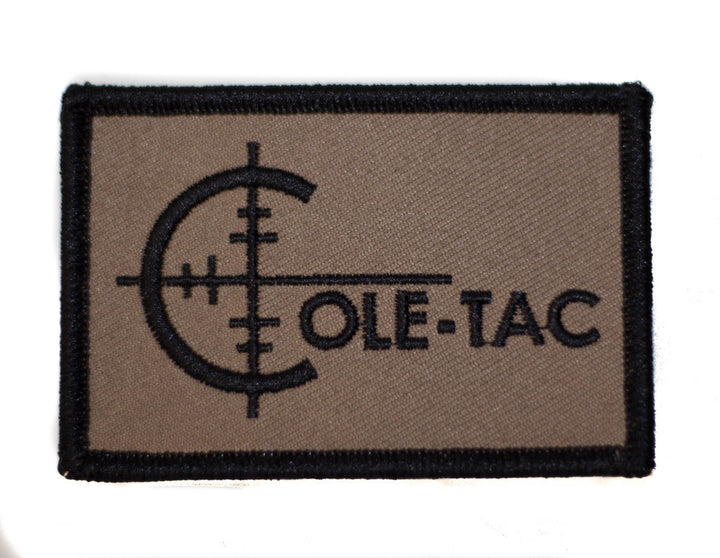 COLE-TAC EMBROIDERED PATCH