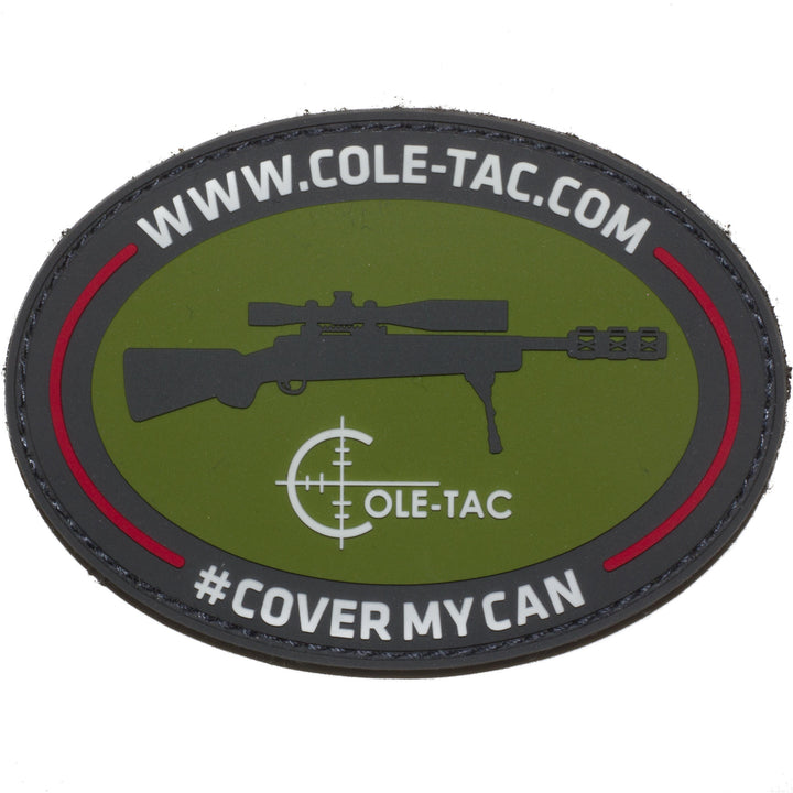 Cole-TAC #COVERMYCAN Vinyl Patch