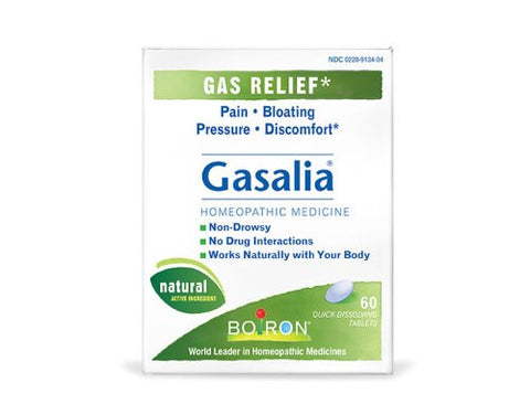 Boiron Gasalia® Tablets - Gas Relief 60 Tablets