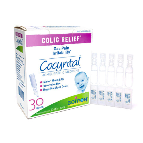 Boiron Cocyntal® : Baby Colic Relief -30 liquid unit doses
