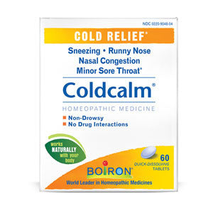 Boiron Coldcalm® Cold Relief - 60 tabs