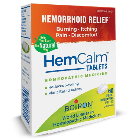 Boiron Homeopathic Medicine HemCalm™ Tablets
