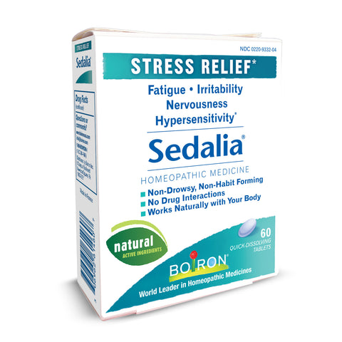 Boiron Sedalia 1 Pack® - 60 Tablets