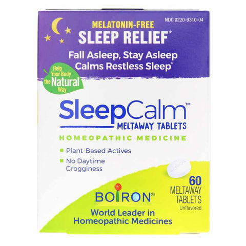 Boiron SleepCalm Tablets - Sleep Aid - 60 tablets
