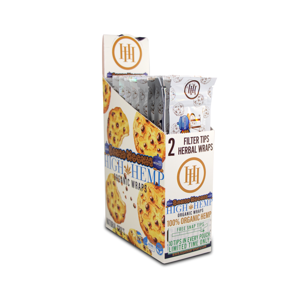 High Hemp Organic Wraps Baked Kookies - High Hemp Herbal Wraps