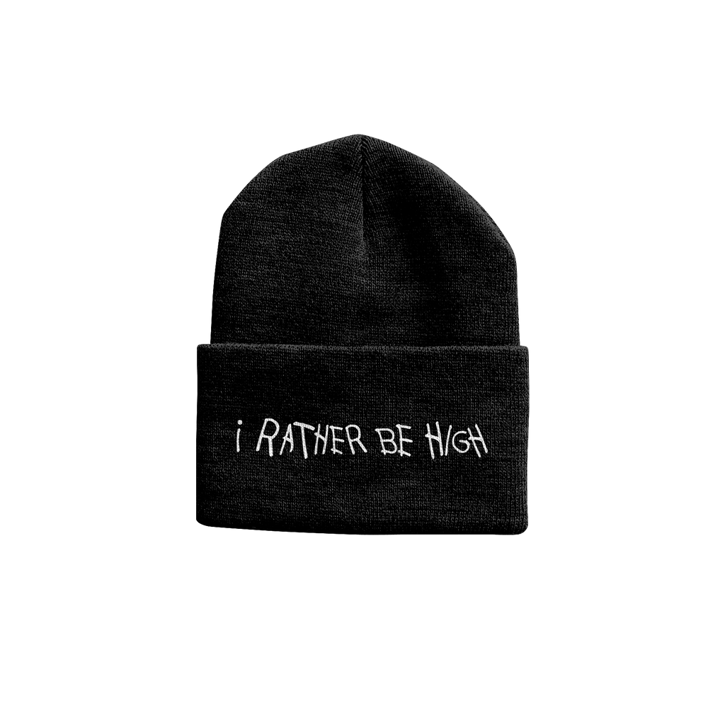 I Rather Be High Beanie - High Hemp Herbal Wraps