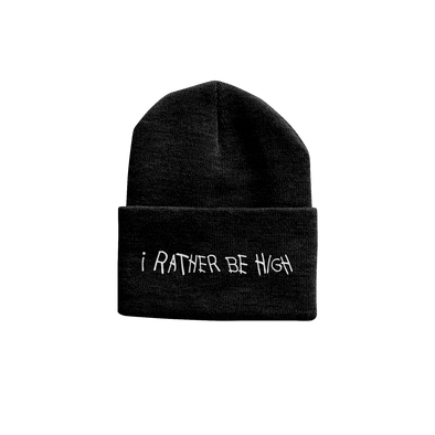 I Rather Be High Beanie