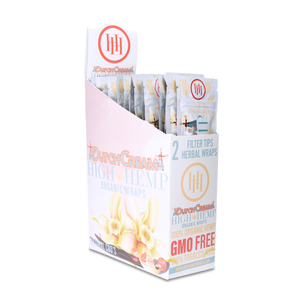 High Hemp Organic Wraps Dutch Cream - High Hemp Herbal Wraps