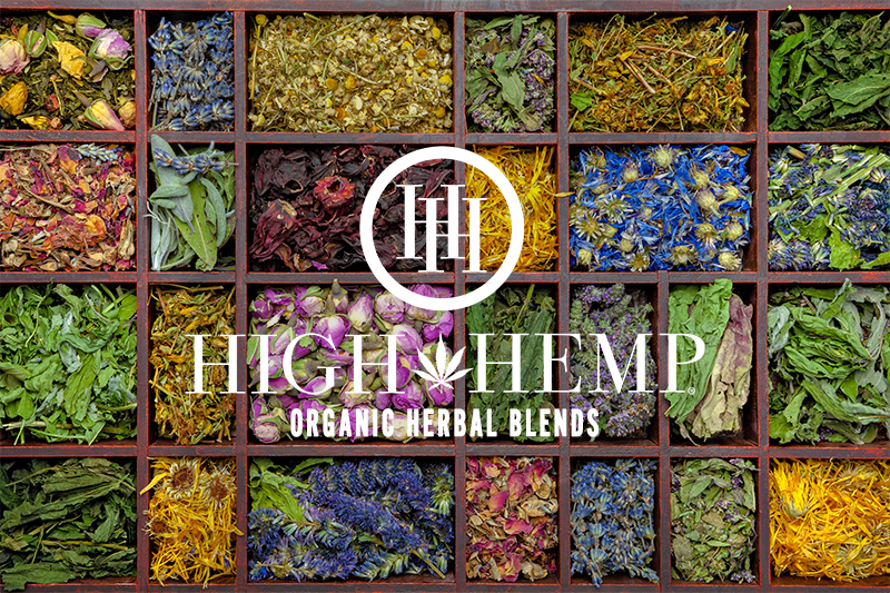 High Hemp Organic Herbal Blends