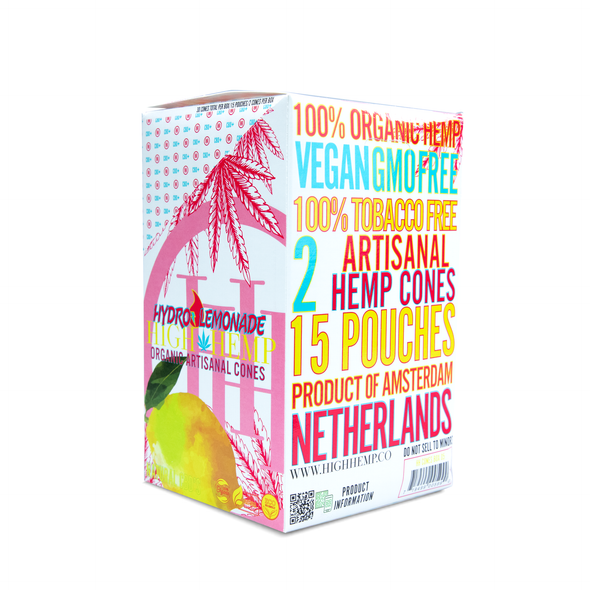 High Hemp Organic Wrap Cones Hydro Lemonade