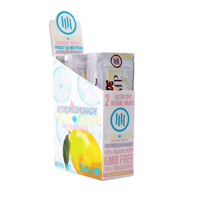 High Hemp Organic Wraps Hydro Lemonade