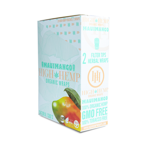High Hemp Organic Wraps Maui Mango - High Hemp Herbal Wraps