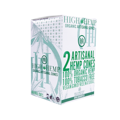 High Hemp Organic Wrap Cones